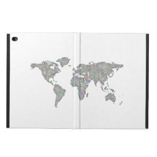 World map powis iPad air 2 case