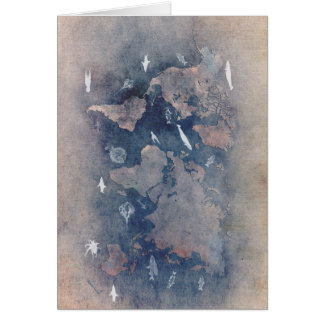 world map sealife card