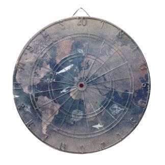world map sealife dartboard