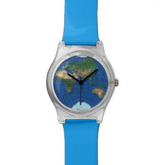 World Map Sphere 3: Europe Asia Africa Australia Watch
