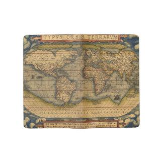 World map Theatrum Orbis Ancient Travel Large Moleskine Notebook