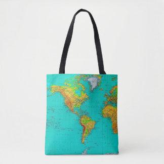World Map - Tote Bag
