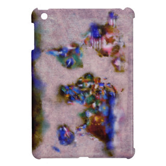 world map watercolor 32 cover for the iPad mini