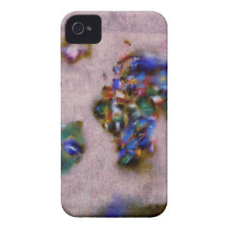 world map watercolor 32 iPhone 4 cover