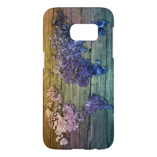world map wood 10 samsung galaxy s7 case