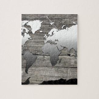 world map wood 13 jigsaw puzzle