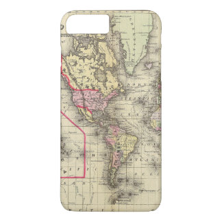 World Mercator proj 2 iPhone 7 Plus Case