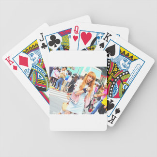 """""""World modern art best photo Japanese top Bicycle Playing Cards"""