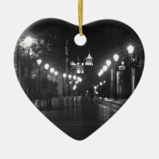 """World modern art best photo Japanese top Ceramic Heart Ornament"