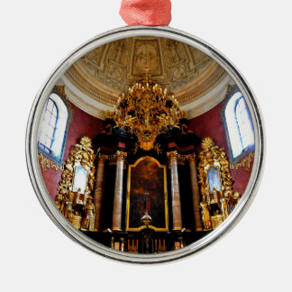 """""""World modern art best photo Japanese top Silver-Colored Round Ornament"""