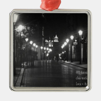 """""""World modern art best photo Japanese top Silver-Colored Square Ornament"""