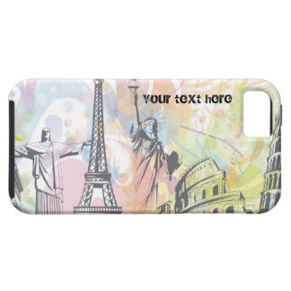 World monuments custom iPhone case