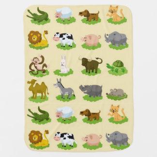 World Nature Friends Baby Blanket