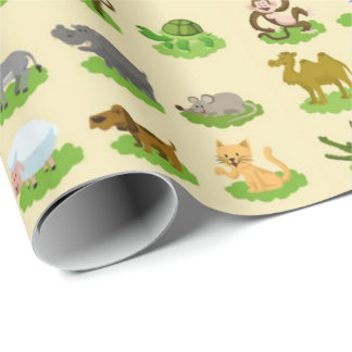 World Nature Friends Wrapping Paper