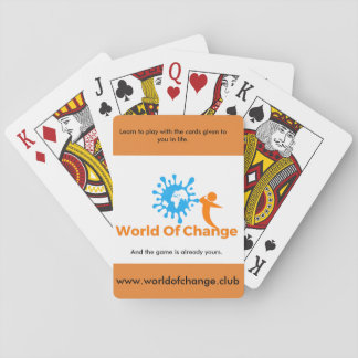 World Of Change Playing cards. Playing Cards
