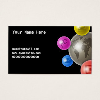 World of Computers, Your Name Here, name@hotmai... Business Card