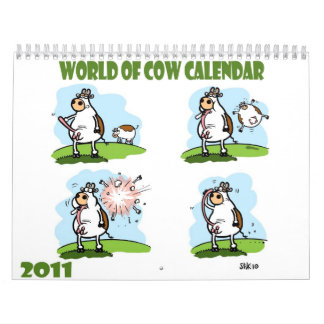 World of Cow Calendar 2011