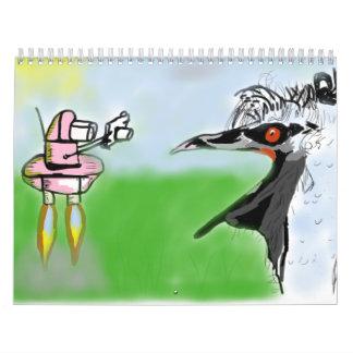 World of Freds Calendar