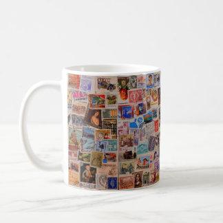 World of Stamps -- Coffee Mug