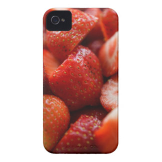 World OF Strawberries Case-Mate iPhone 4 Cases