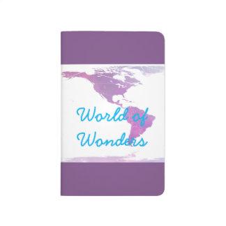 """""""World of Wonder"""" Pocket Notebook Journals"""