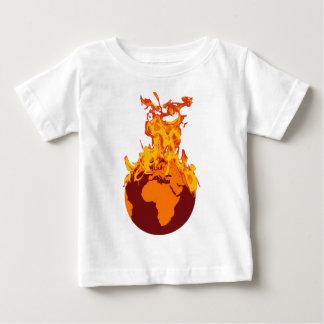 World on Fire Baby T-Shirt