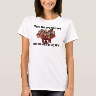 World Orangutan Day T-Shirt