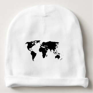 World Outline Baby Beanie