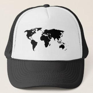 World Outline Trucker Hat