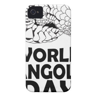 World Pangolin Day - 18th February iPhone 4 Cover