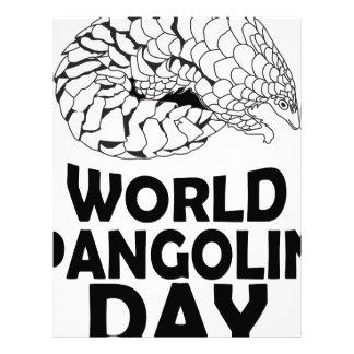 World Pangolin Day - 18th February Letterhead