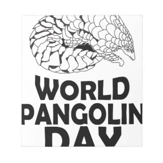 World Pangolin Day - 18th February Notepads