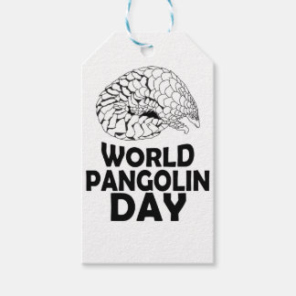 World Pangolin Day - 18th February Pack Of Gift Tags