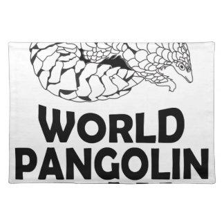 World Pangolin Day - 18th February Placemats