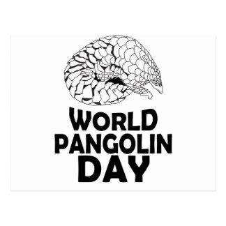 World Pangolin Day - 18th February Postcard
