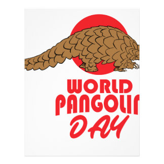 World Pangolin Day - Appreciation Day Letterhead