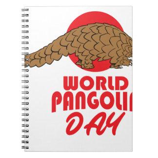World Pangolin Day - Appreciation Day Notebooks