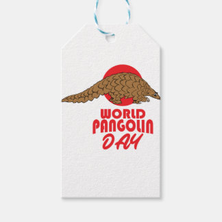 World Pangolin Day - Appreciation Day Pack Of Gift Tags