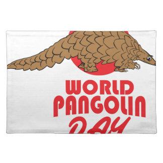 World Pangolin Day - Appreciation Day Placemats