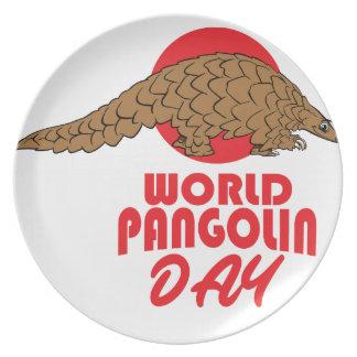World Pangolin Day - Appreciation Day Plates