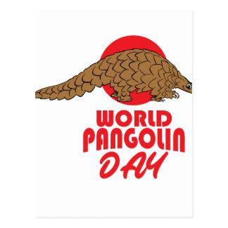 World Pangolin Day - Appreciation Day Postcard
