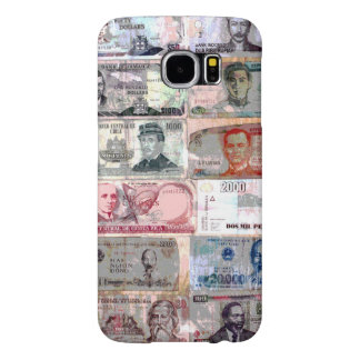 World Paper Money Samsung Galaxy S6 Cases