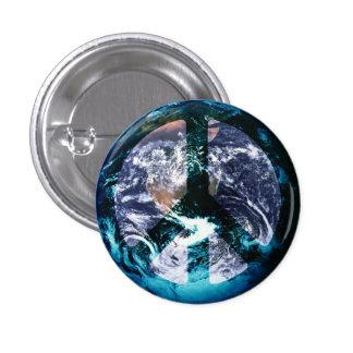 World Peace 1 Inch Round Button