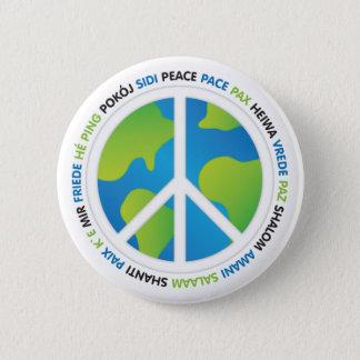 World Peace 2 Inch Round Button