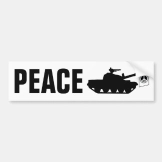 World Peace! Bumper Sticker