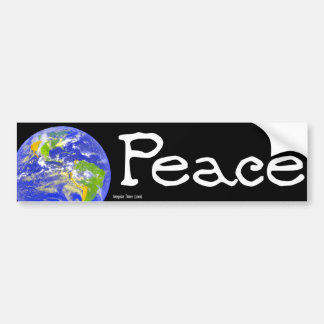 World Peace Bumper Sticker