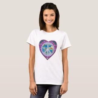 World Peace Heart T-Shirt