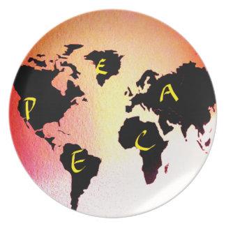 World Peace Plate