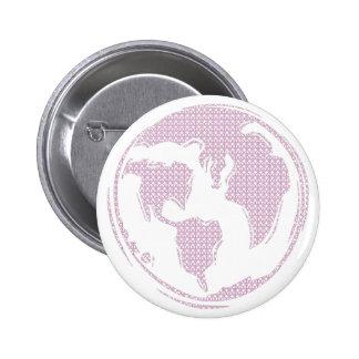 World Peace (Purple) 2 Inch Round Button