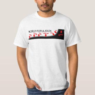 World Population Timeline T-Shirt